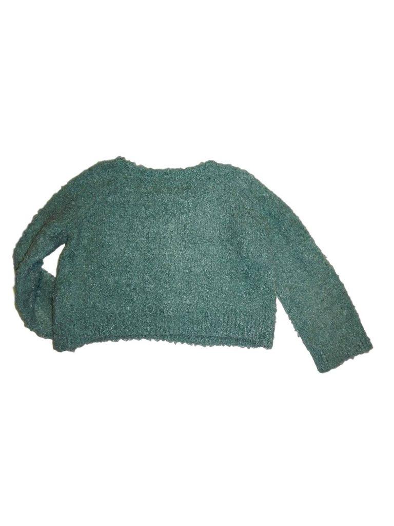 Hibátlan H&M Szőrmés, rövid pulóver (158-164)
