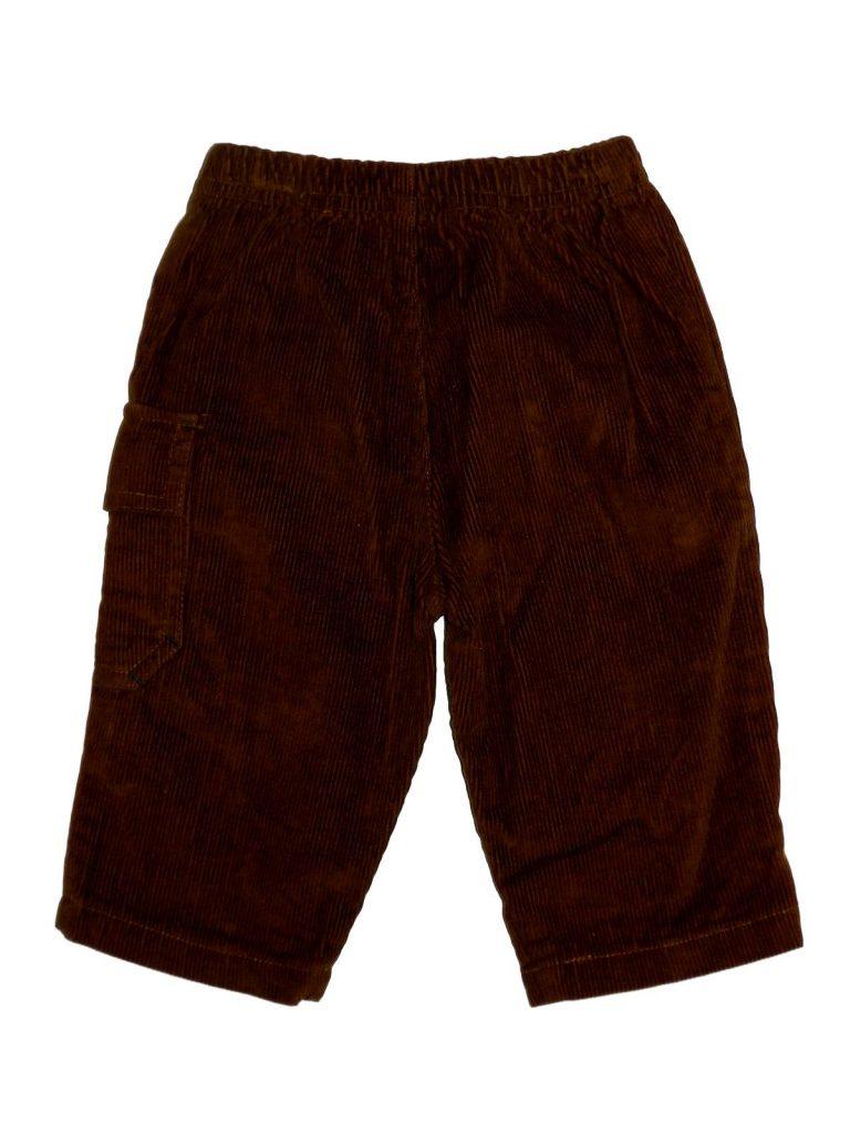Újszerű Egyéb márka Barna kord nadrág (62-68)