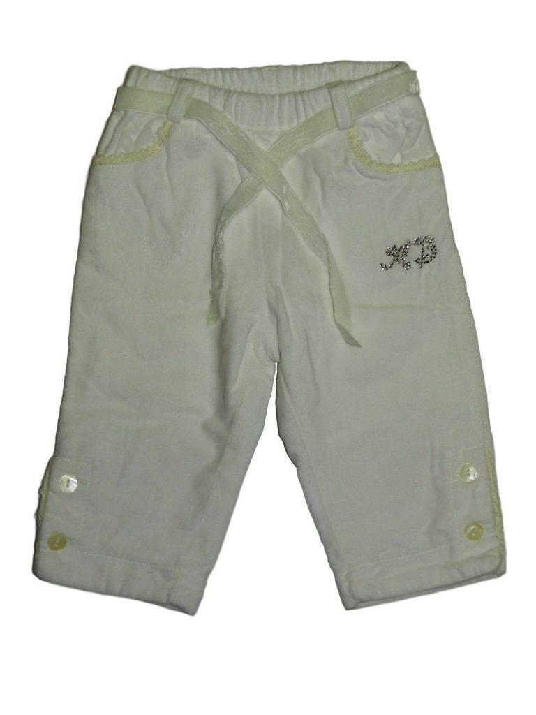 Újszerű Egyéb márka Bélelt, strasszos plüss nadrág (68)