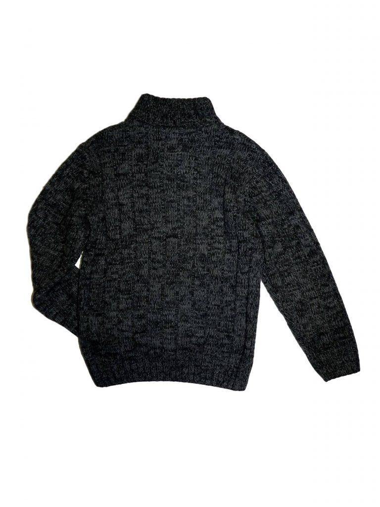 Jó állapotú C&A Kötött, gombos pulóver (134-140)
