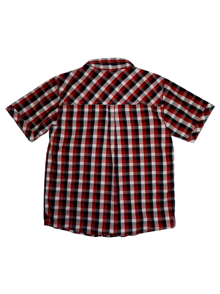 Hibátlan Mamas&Papas Piros-fehér kockás ing (158)