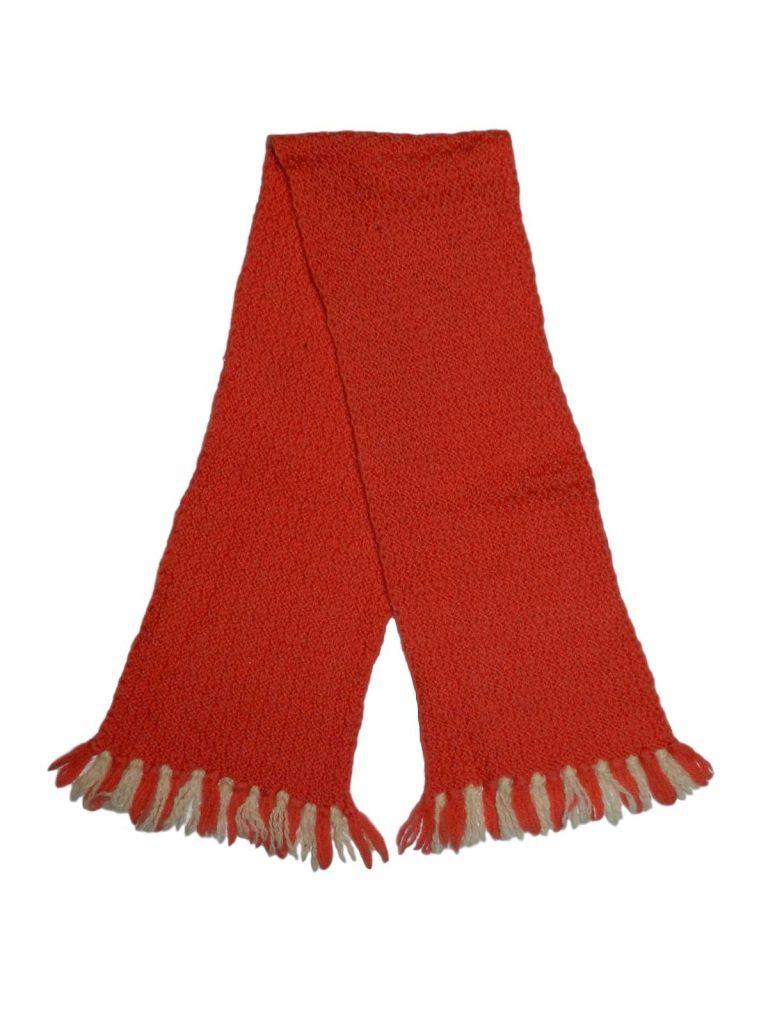 Hibátlan Egyéb márka Lazac színű, kötött sál (98-116)