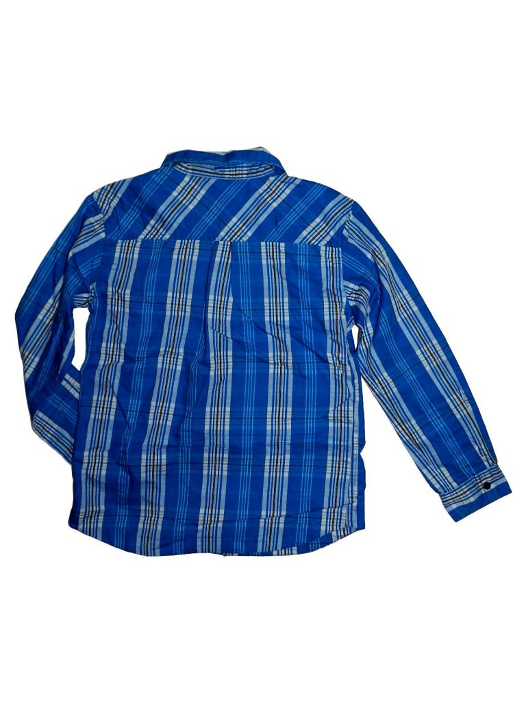 Újszerű Egyéb márka Kék kockás ing (146-152)
