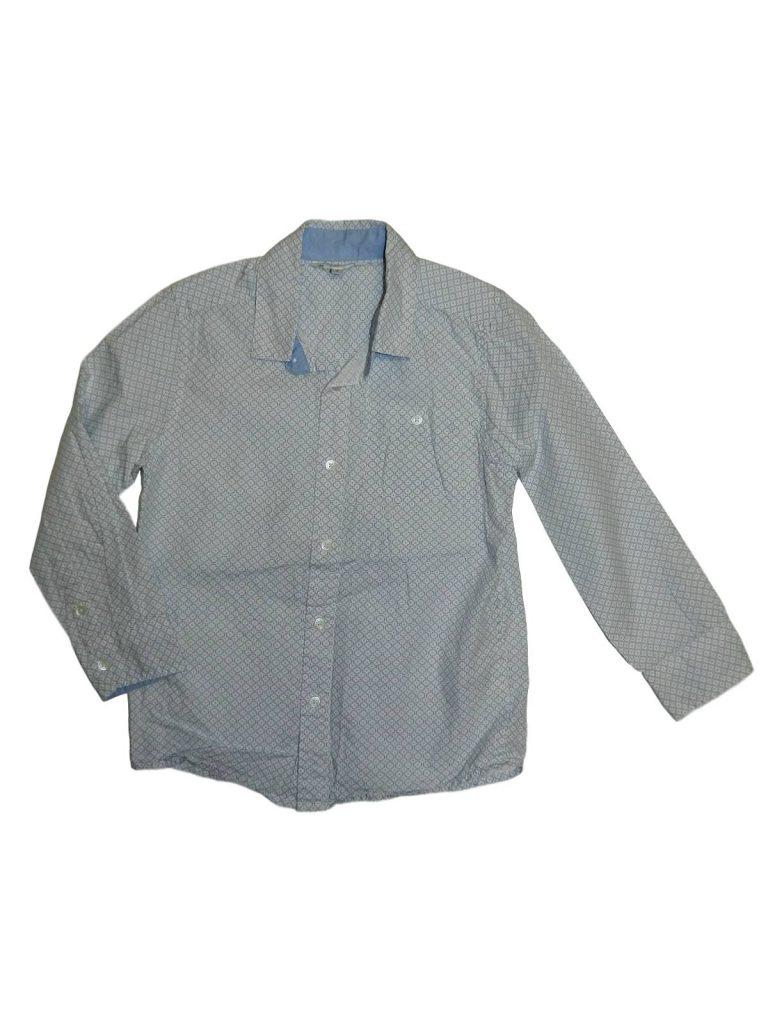 Újszerű John Lewis Kék mintás ing (122)