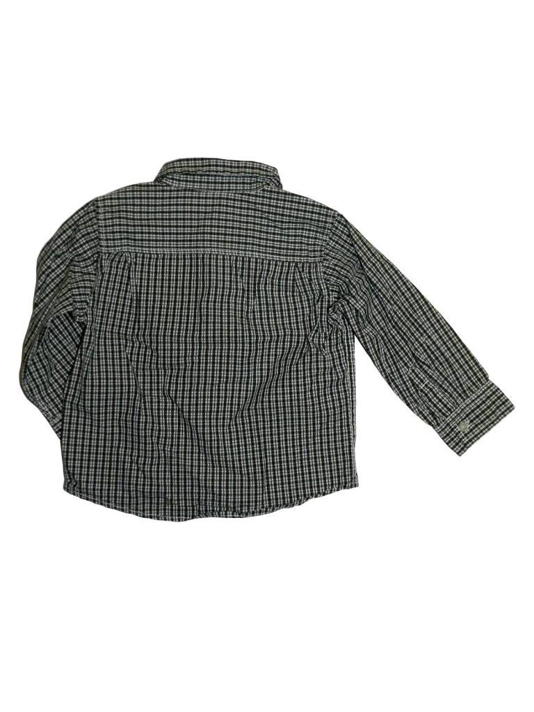Hibátlan H&M Zöld-fehér kockás ing (98)