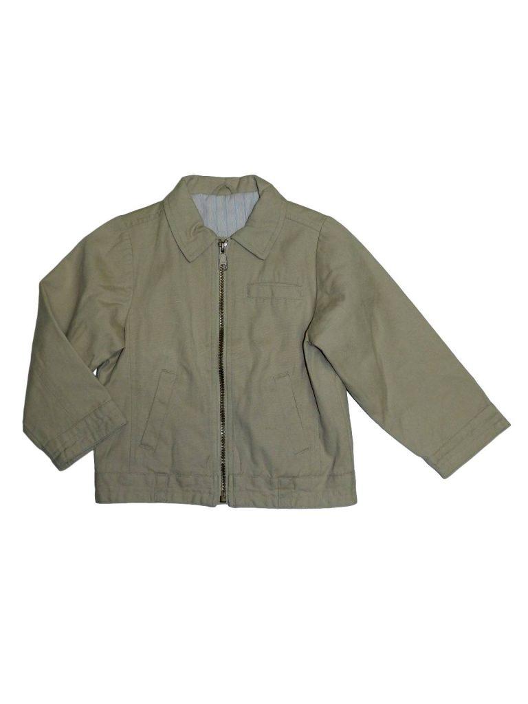 Jó állapotú Mothercare Bézs, cipzáras átmeneti kabát (98-104)