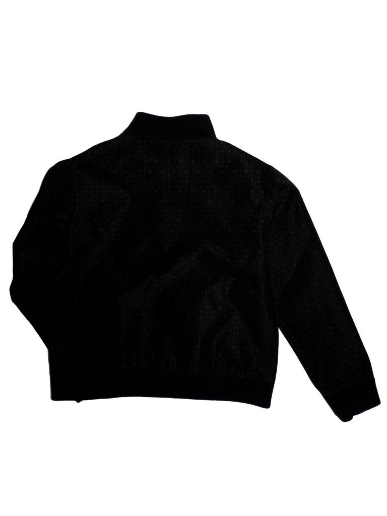 Hibátlan Egyéb márka Fekete, mintás átmeneti kabát (152)