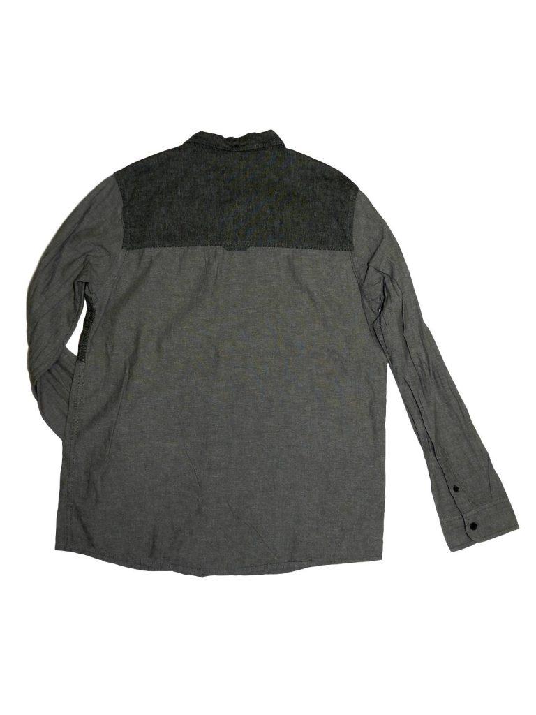 Újszerű Matalan Kék zsebes, szürke ing (164)