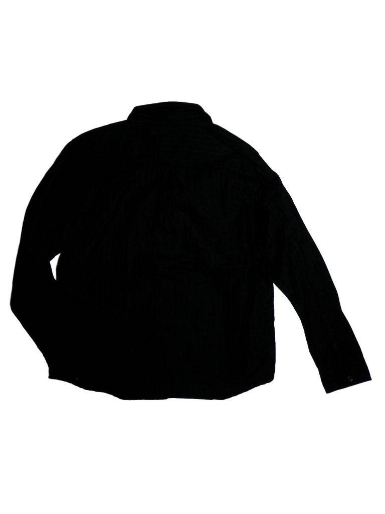 Újszerű Rebel Fekete, anyagában csíkos ing (158)