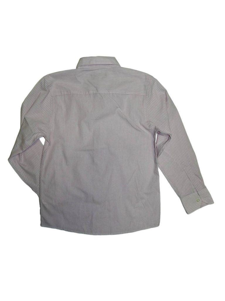 Újszerű Flip-Back Rózsaszín csíkos ing (146-152)