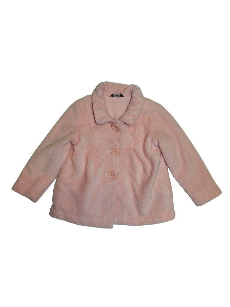Hibátlan George Rózsaszín átmeneti kabát (98-104)