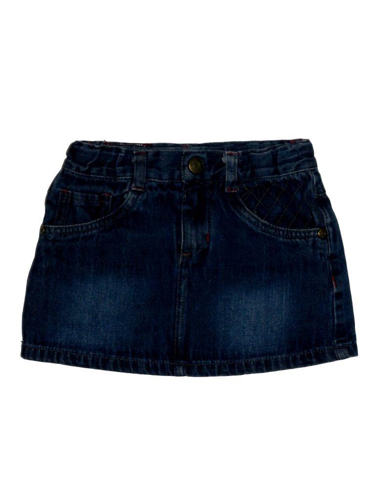 Hibátlan Egyéb márka Kék farmer szoknya (116)
