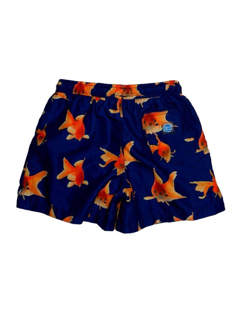 Újszerű Egyéb márka Aranyhal mintás rövidnadrág (104-110)