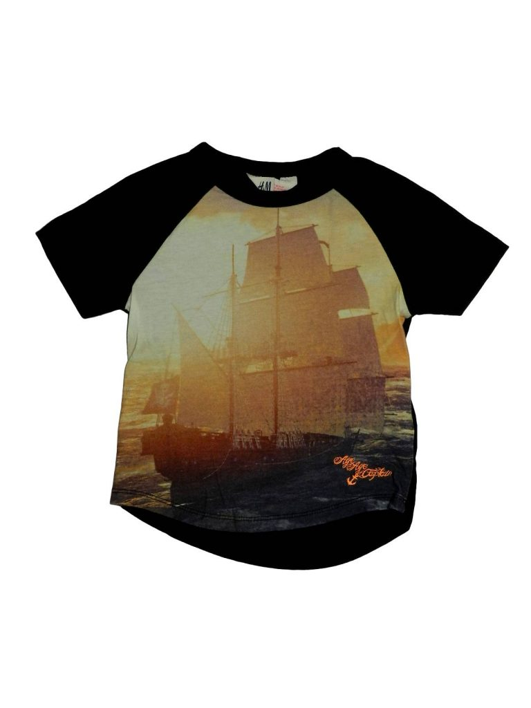 Hibátlan H&M Hajómintás póló (92)
