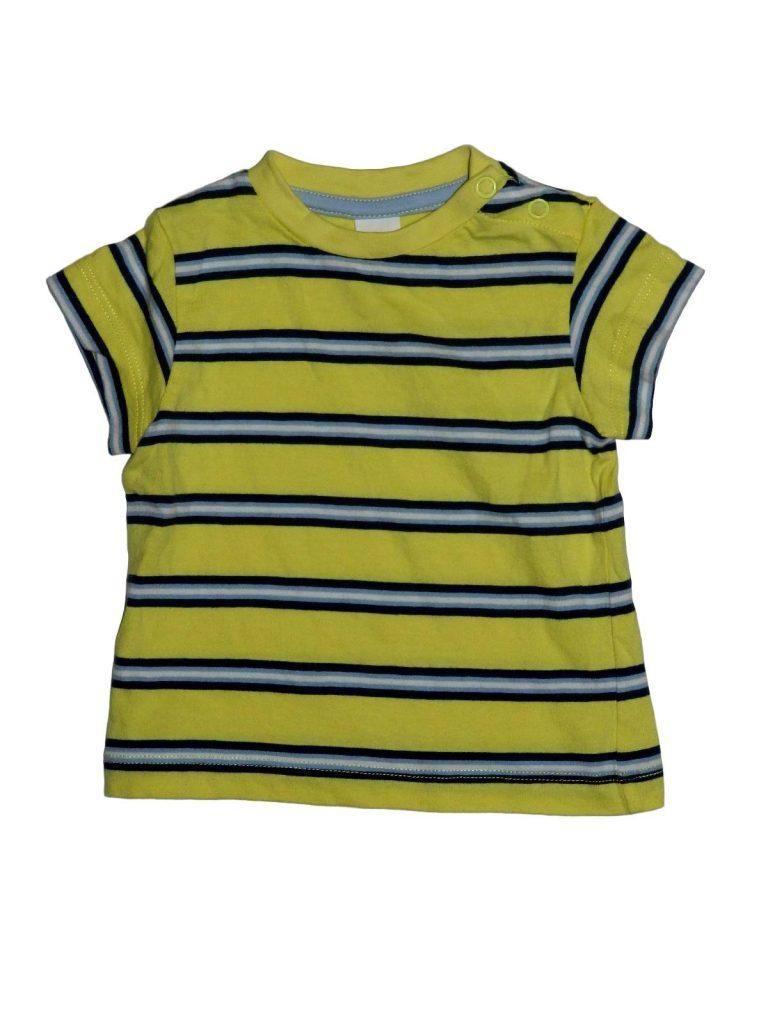 Újszerű Egyéb márka Sárga, csíkos póló (68)
