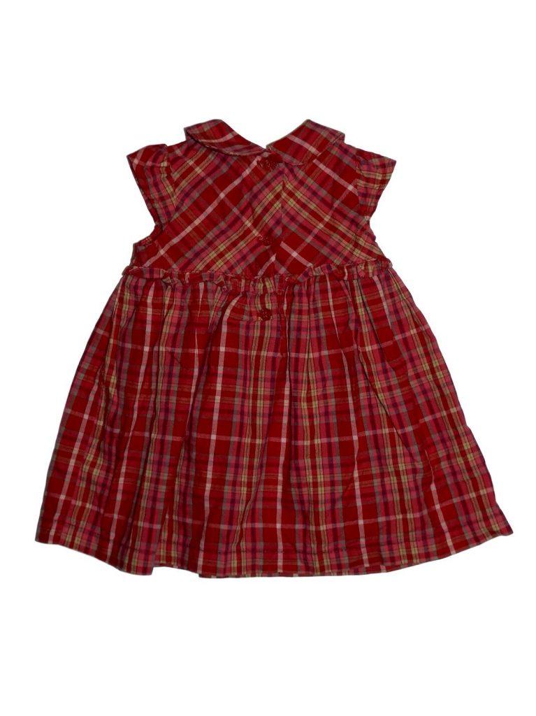 Újszerű Mini Club Kockás ruha (56-62)