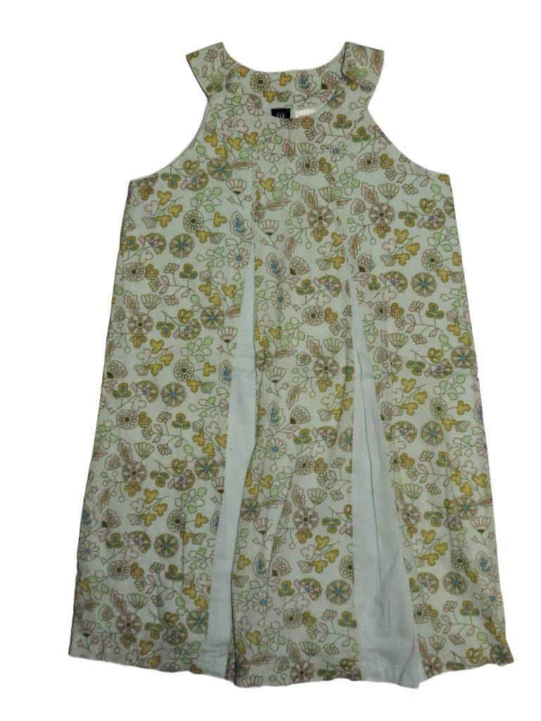 Hibátlan Gap Zöld, virágmintás ruha (110)