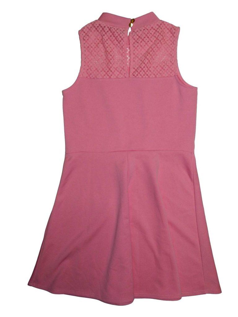Újszerű River Island Rózsaszín, csipkés ruha (146-152)