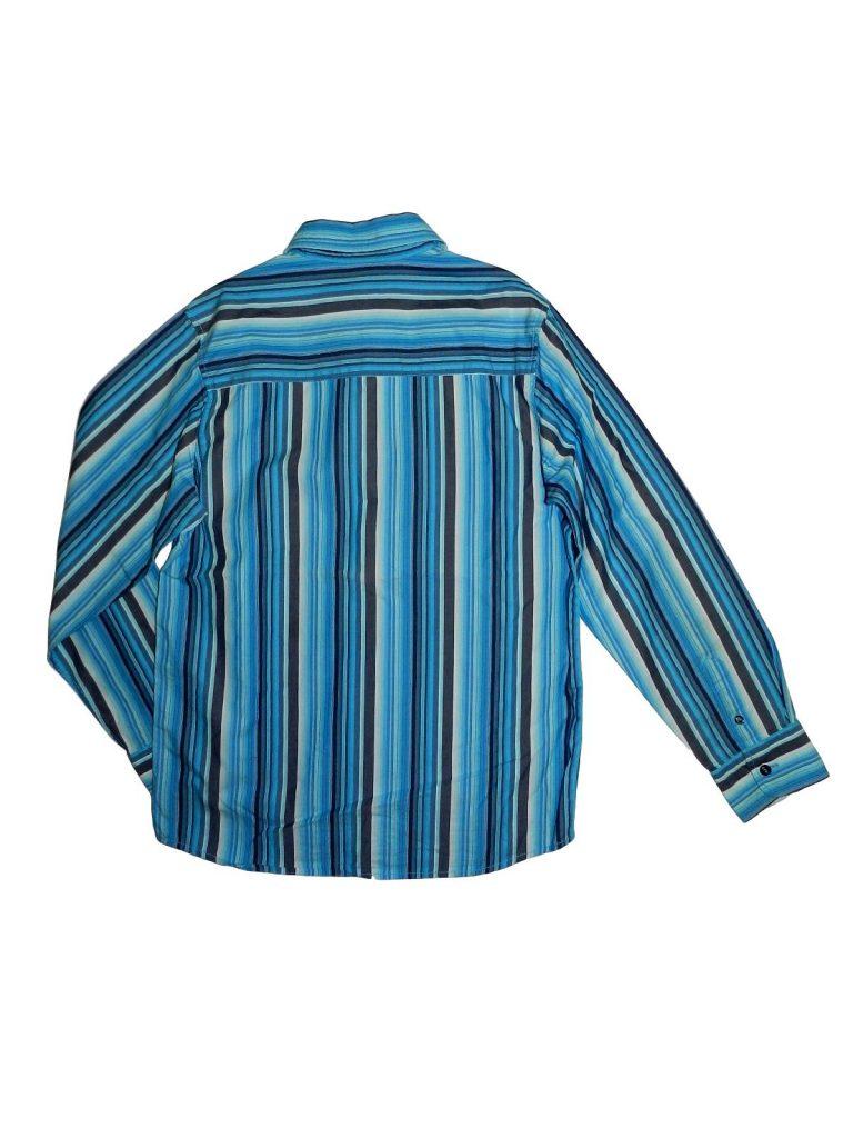 Hibátlan Next Kék, csíkos ing (152)