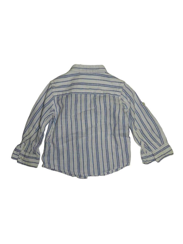 Jó állapotú Early Days Kék-fehér csíkos ing (74-80)