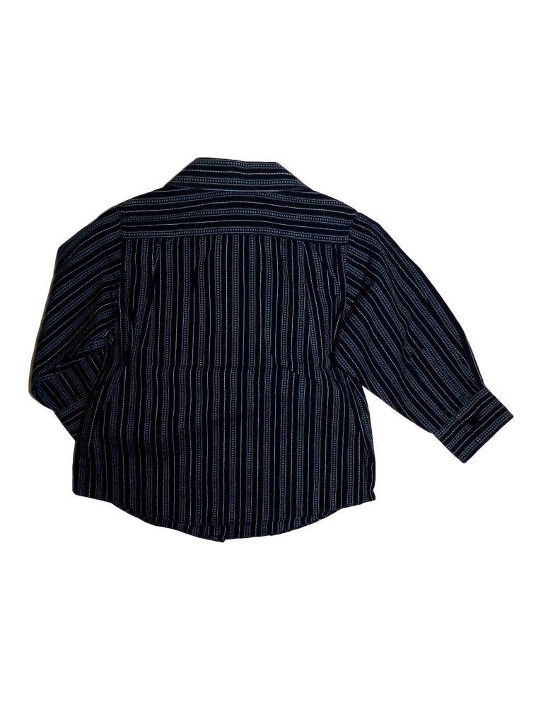 Jó állapotú Matalan Kék, mintás ing (98)