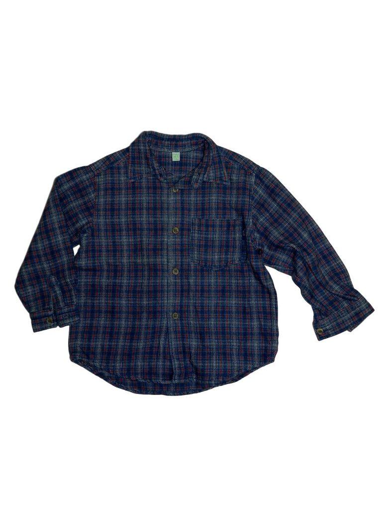 Jó állapotú Egyéb márka Kék vastag ing (98-104)
