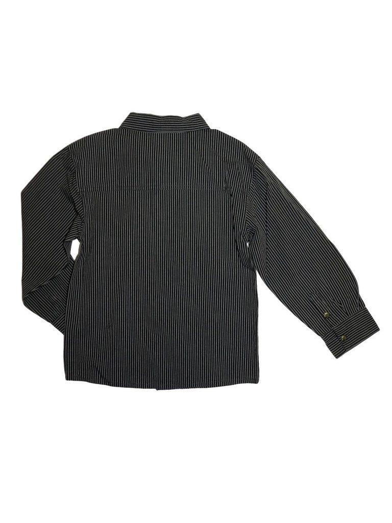 Hibátlan Egyéb márka Szürke, csíkos ing (128)