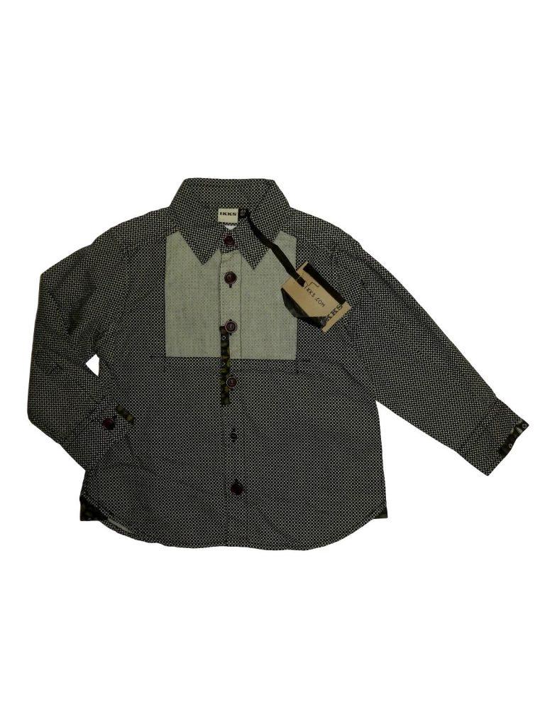 Új / Outlet Egyéb márka Szürke mintás ing (104)