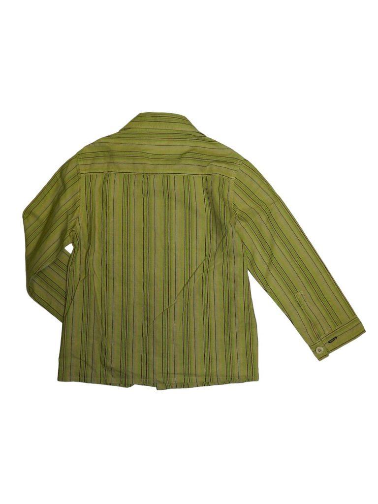 Hibátlan Egyéb márka Zöld, csíkos ing (122)