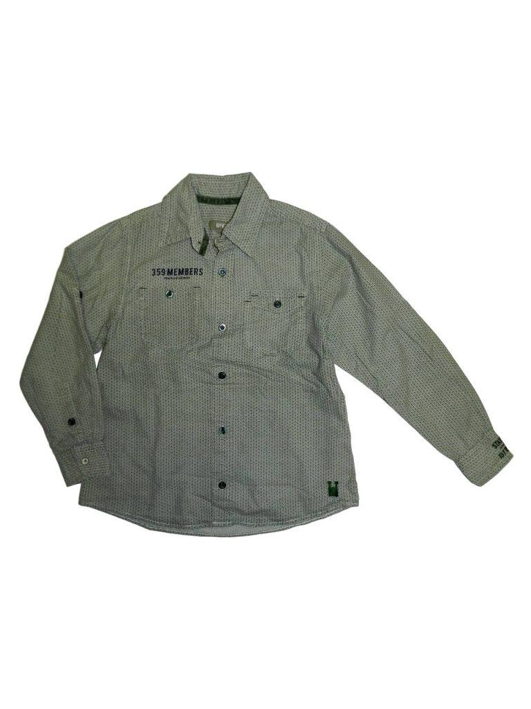 Hibátlan Egyéb márka Zöld, mintás ing (122-128)