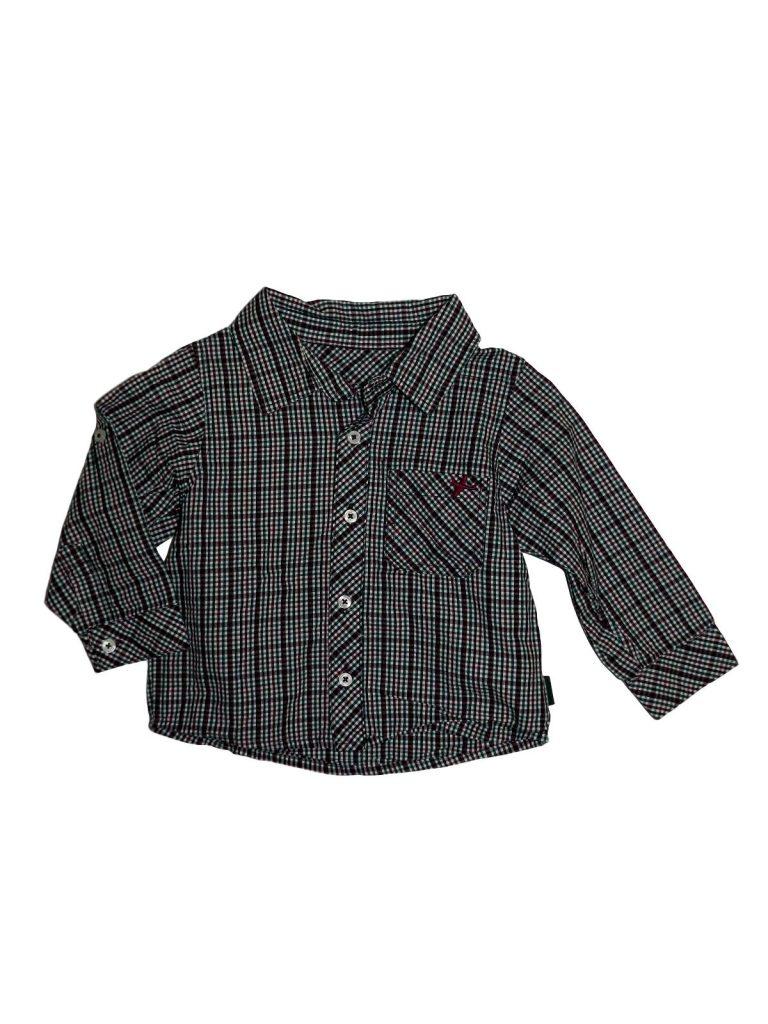 Újszerű Marks & Spencer Apró kockás, színes ing (80-86)