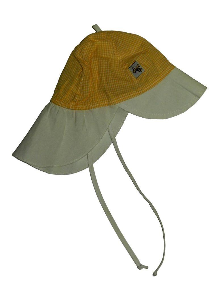 Hibátlan Egyéb márka Sárga kockás sapka (74-80)