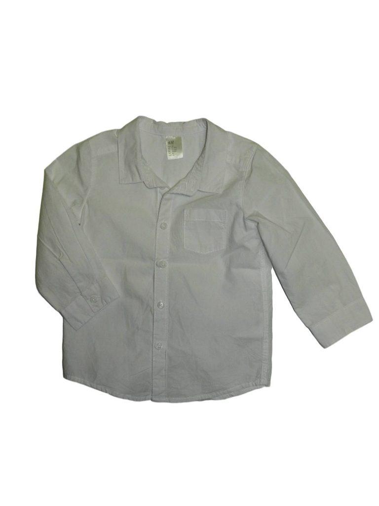 Újszerű H&M Fehér hosszú ujjú ing (86)