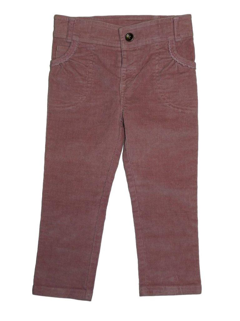 Újszerű Mini Club Rózsaszín kord nadrág (86-92)