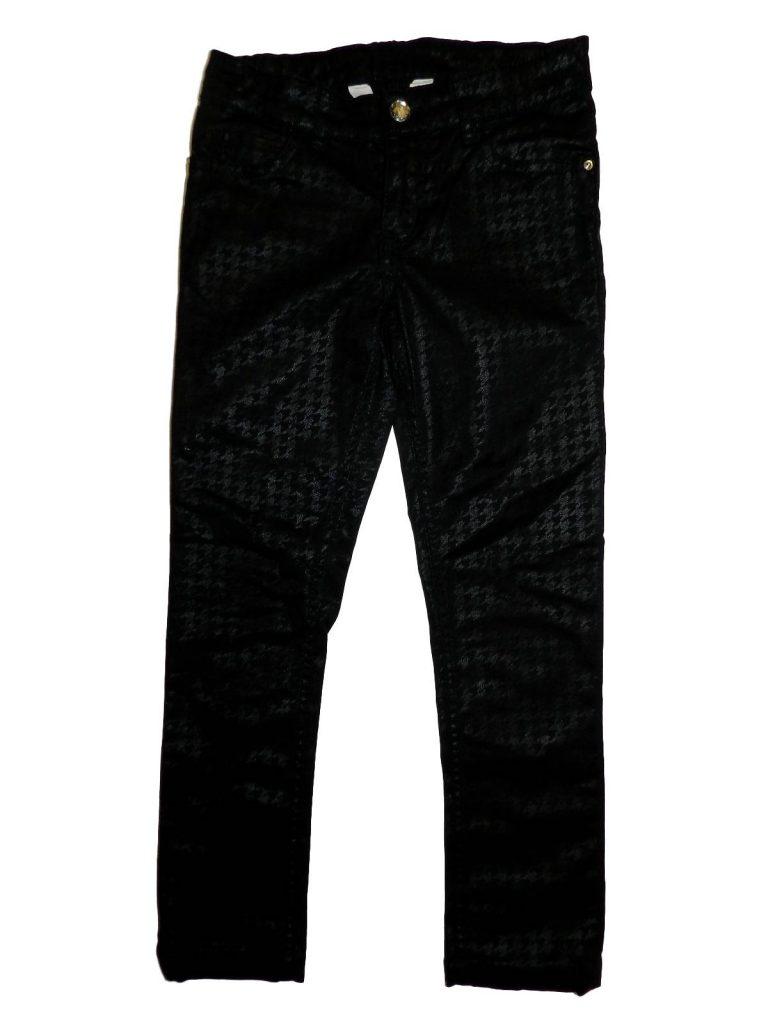 Újszerű H&M Fekete, mintás nadrág (128)