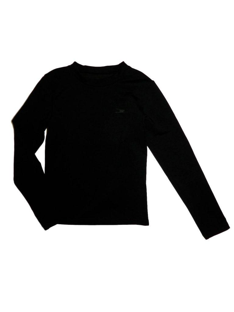 Újszerű Egyéb márka Fekete sport felső (116-122)