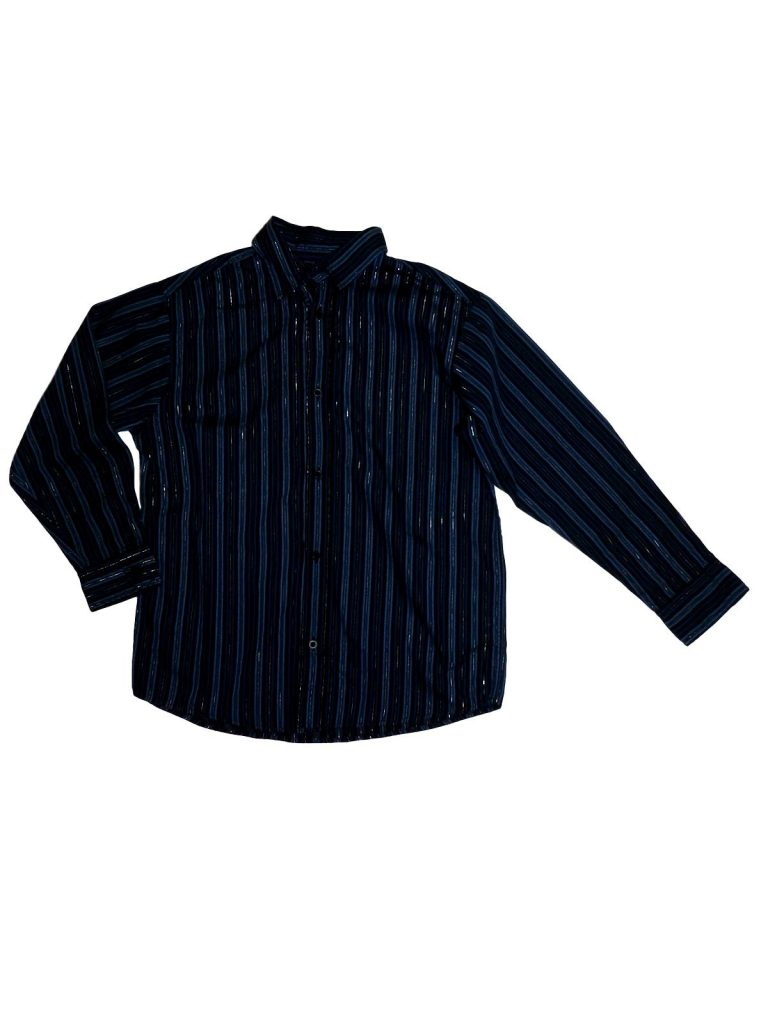 Újszerű Cherokee Kék, csíkos ing (140-146)