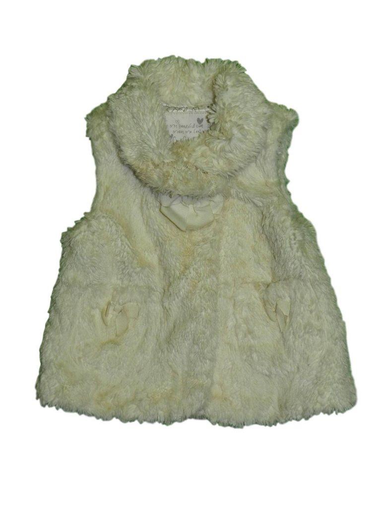 Újszerű Matalan Masnis, szőrmés mellény (92-98)