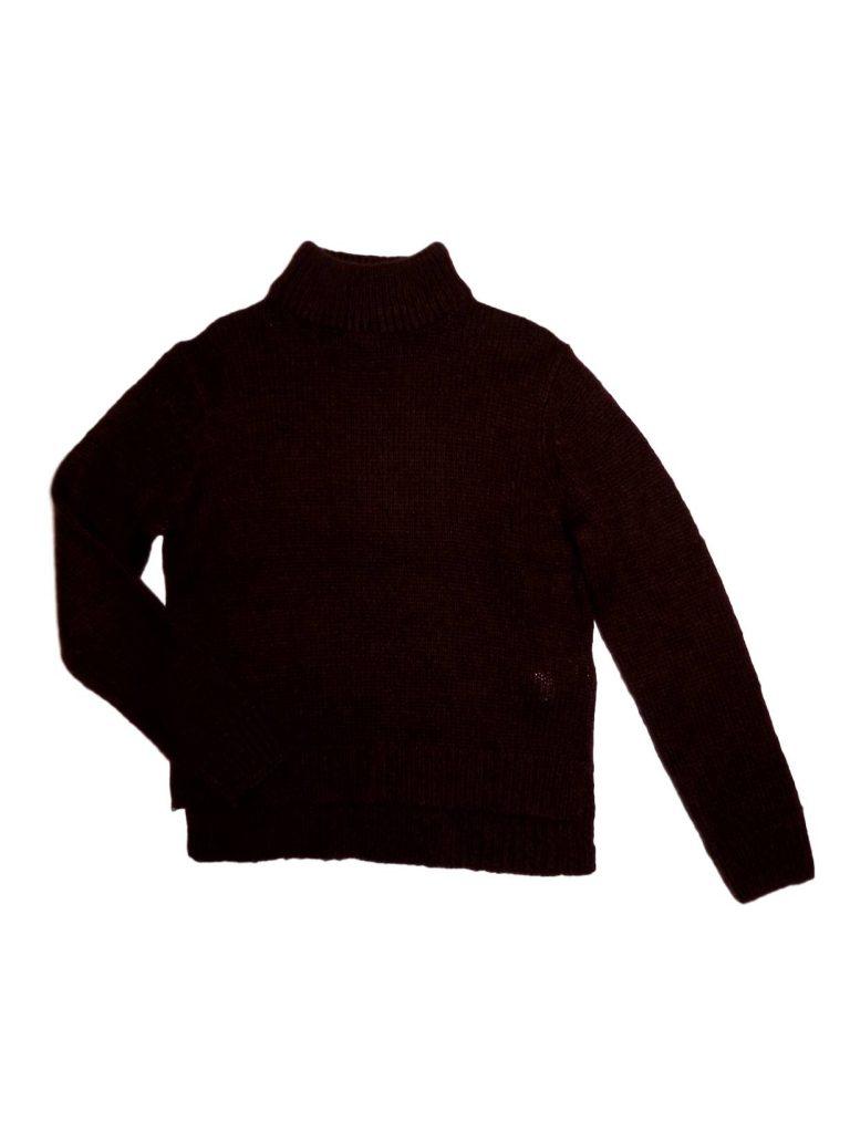 Újszerű New Look Bordó kötött pulóver (152-158)