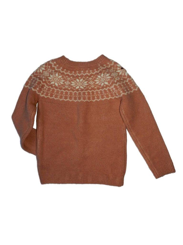 Újszerű Young Dimension Strasszköves kötött pulóver (122-128)