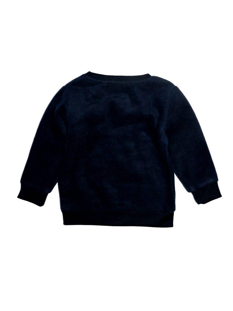 Újszerű Next Kék, polár pulóver (80-86)