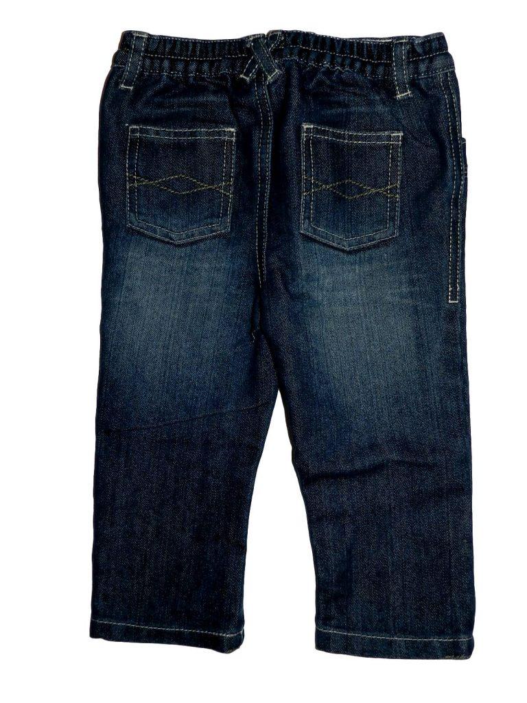 Újszerű F&F Koptatott farmer nadrág (80-86)