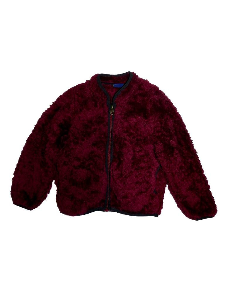 Újszerű Egyéb márka Szőrmés, cipzáras pulóver (98-104)