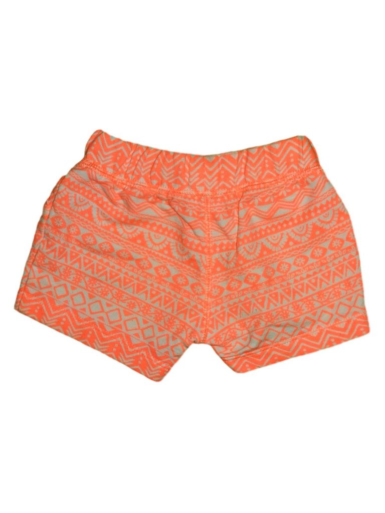 Hibátlan Carter's Narancssárga mintás short (68)