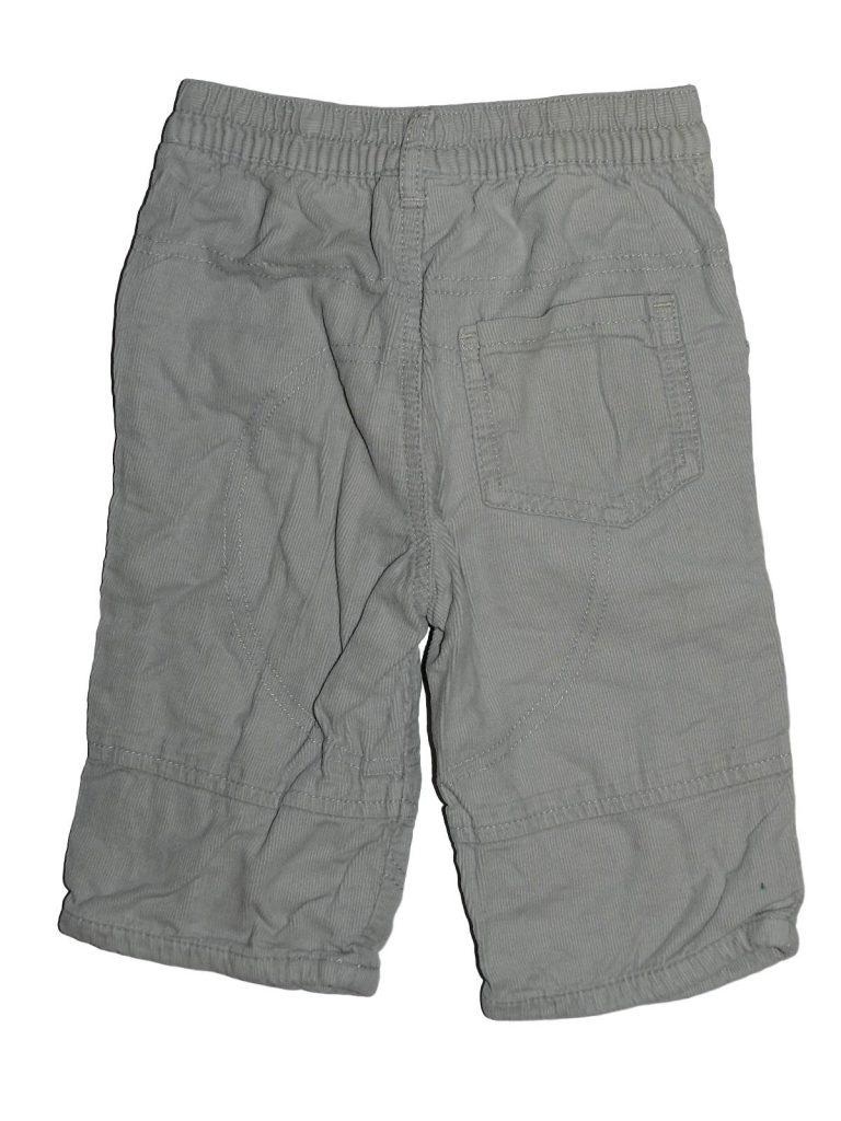 Újszerű Next Bélelt, világos kord nadrág (68-74)