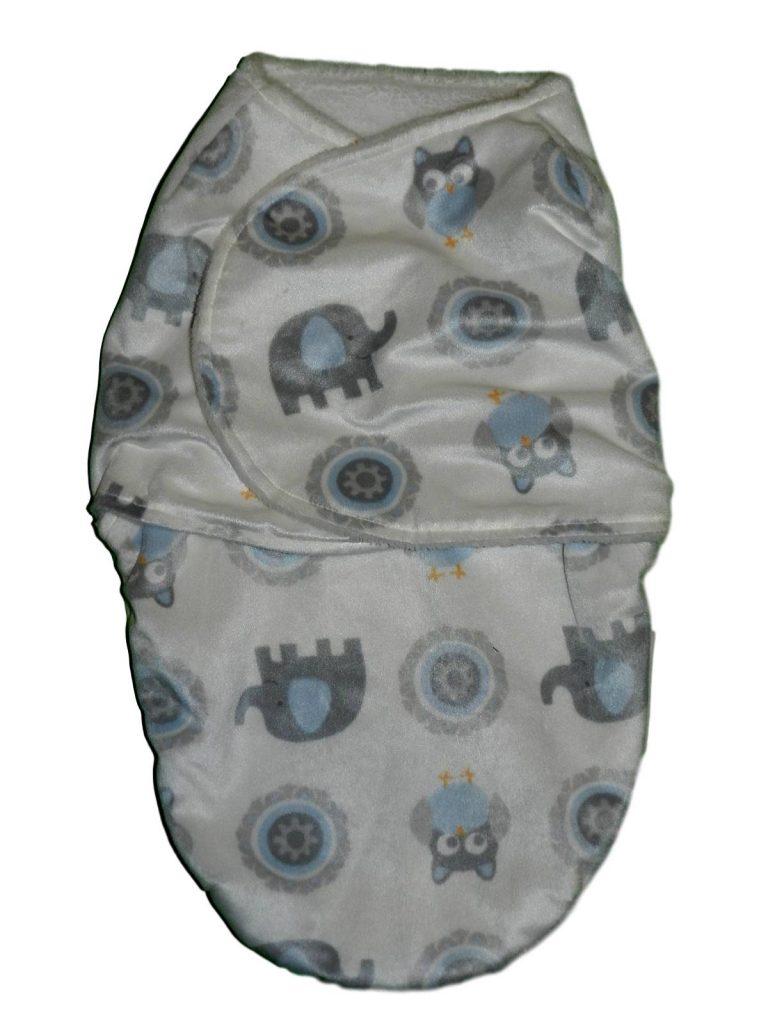 Újszerű  Elefántmintás takaró (50-56)