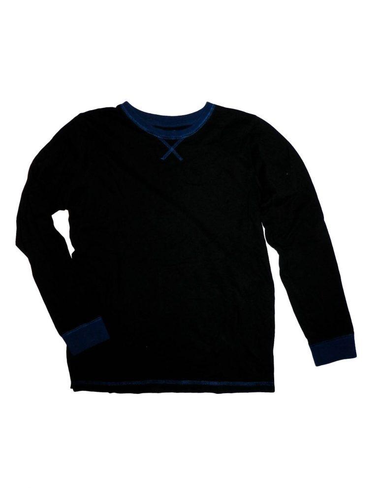 Újszerű F&F Fekete pizsama felső (158-164)