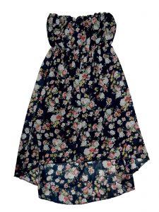 Jó állapotú Egyéb márka Virágmintás ruha (134-140) 7d910c85df