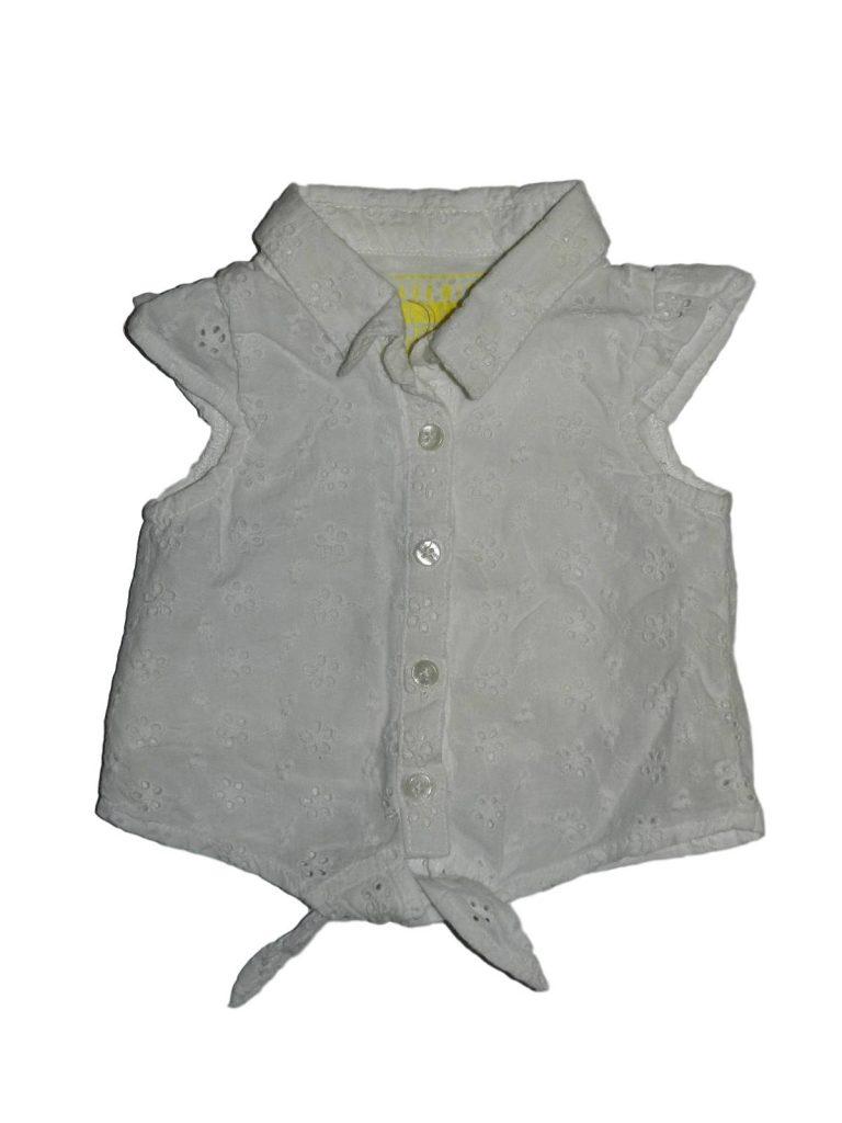 Újszerű Egyéb márka Hímzett fehér felső (62)