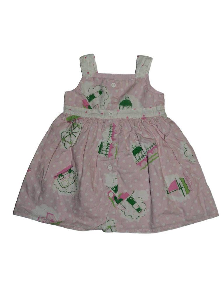 Hibátlan Mothercare Pöttyös, mintás ruha (62-68)